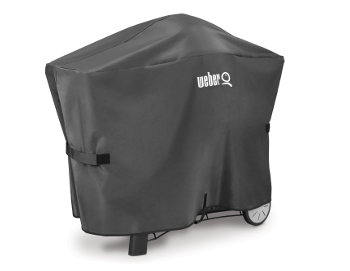 7127CA 2015 Weber Q Grill Cover Black AU Only Product Facing Right